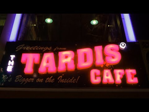 The TARDIS Cafe in Istanbul Turkey