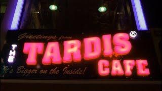 The TARDIS Cafe in Istanbul Turkey