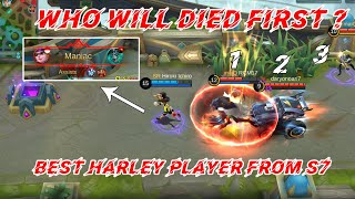 Harley EZ Maniac, UNTOUCHABLE Harley (Build inside) Mobile Legends Bang Bang