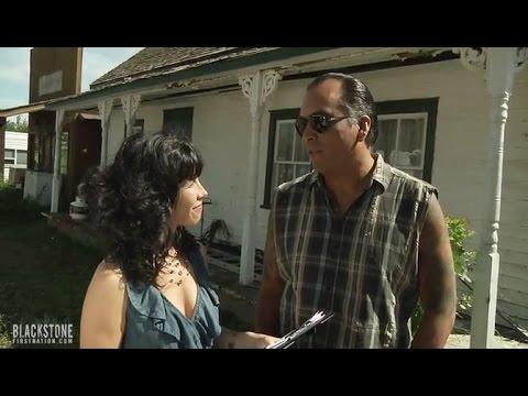 Blackstone Season 2 Andrea Menard Interviews Eric Schweig Youtube He was married to leah schweig from 1999 until their divorce in 2000. blackstone season 2 andrea menard interviews eric schweig