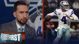 Cowboys won't be Super Bowl contenders in 2020, talks Dak contract — Nick | NFL | FIRST THINGS FIRST