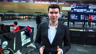 Les Championnats du Monde sur Piste à Saint-Quentin-en-Yvelines
