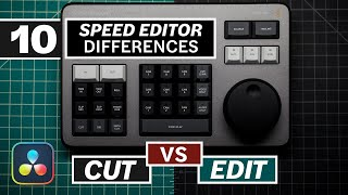 Does The DaVinci Resolve SPEED EDITOR Work In The Edit Page? Tutorial
