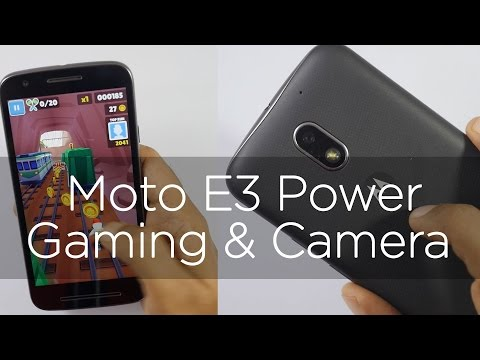 Moto E3 Power Budget Smartphone Camera & Gaming Review