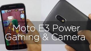 Moto E3 Power Budget Smartphone Camera & Gaming Review