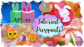 3 Tutorial Pasquali | 3 Easter Tutorials | 3 DIY de Pascua
