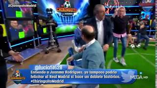 Juanma Rodríguez se marca un Cristóbal Soria y SE CAE DEL BANCO
