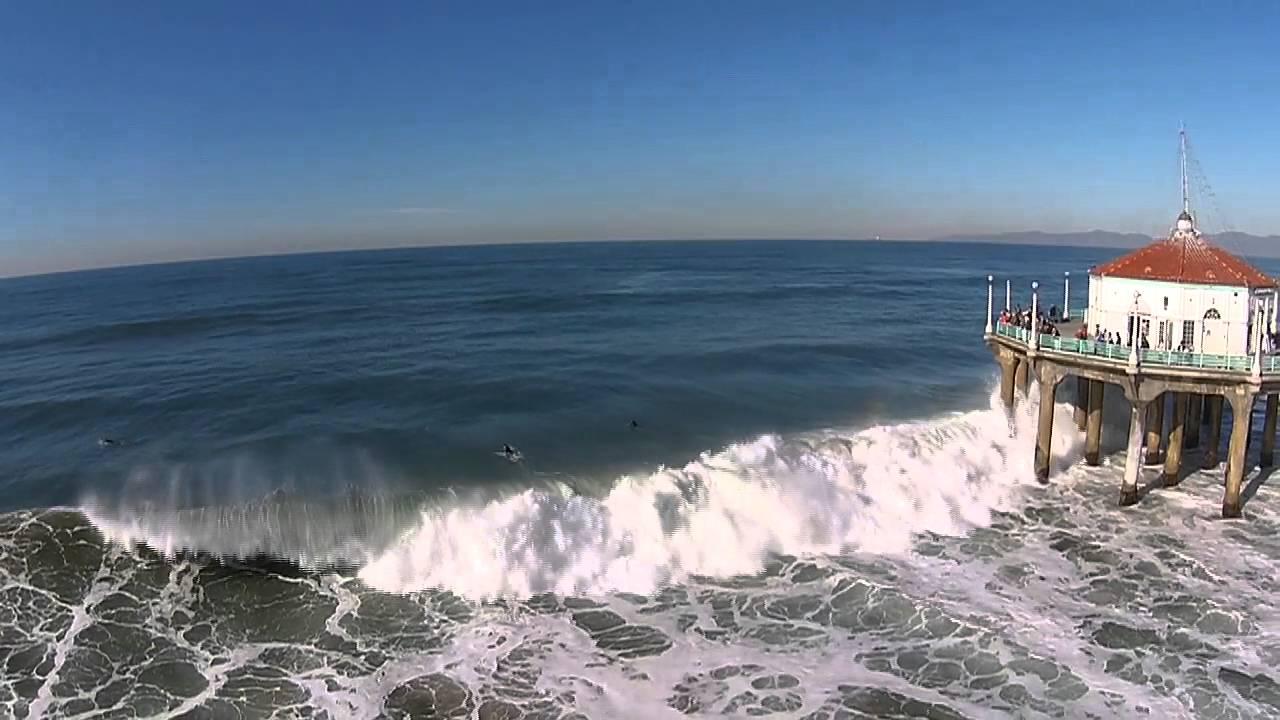 Manhattan Beach Pier Surf