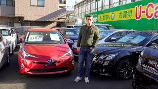 Сколько стоят б/у машины в Японии?