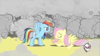 Rainbow Dash kisses Fluttershy | S2E26 - A Canterlot Wedding, Part 2 |