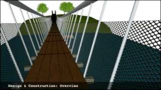 Pedestrian Suspension Bridge