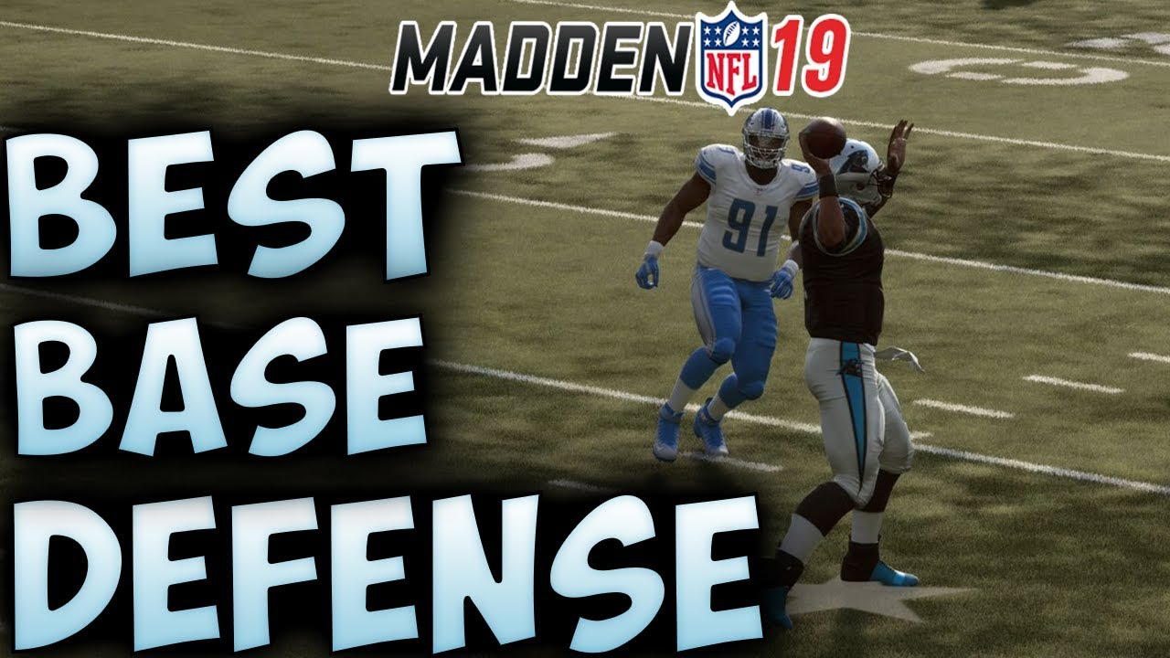 The BEST Base Defense in Madden 19! | WIN IN ANY PLAYBOOK