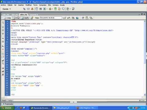 VideoTutorial 9 del Curso de PHP POO