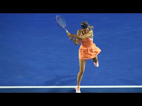 Lauren Davis v Maria Sharapova highlights (3R) | Australian Open 2016