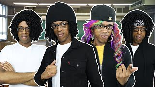 If Rappers Were In Your Class 9 ( KING VON, 6IX9INE, POLO G, LIL TJAY, LIL DURK, NLE CHOPPA)