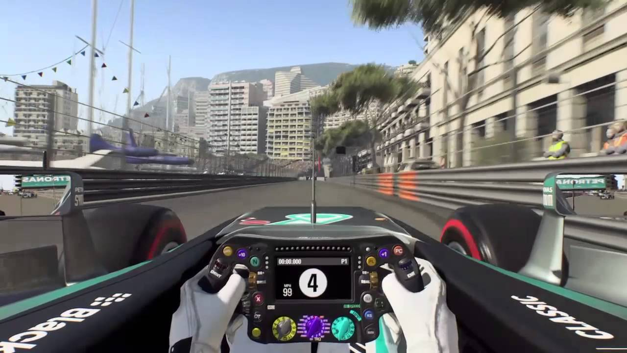formula 1 2015 playstation 4 monaco grand prix youtube. Black Bedroom Furniture Sets. Home Design Ideas