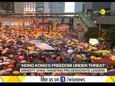 Amesty international concerned about continued attacks on pro democratic activist in Hong Kong