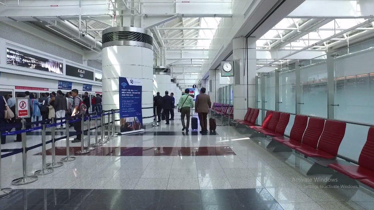 Dubai Dxb Airport Terminal 1 Arrival Hd Concourse D