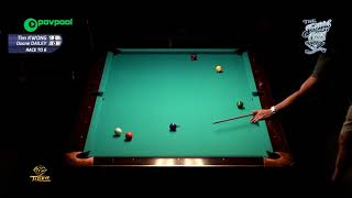 #2 -Duane DAILEY vs Tim KWONG - 49th Terry Stonier 9-Ball Reunion!