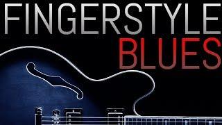 Beautiful Fingerstyle Blues Progression