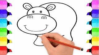 Draw animals | Step by Step Tutorial | Drawing Extra
