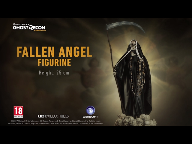 Tom Clancy's Ghost Recon Wildlands: FALLEN ANGEL FIGURINE - Launch Trailer