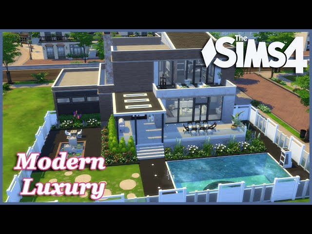 The Sims 4 - Modern Luxury (Speed Build)
