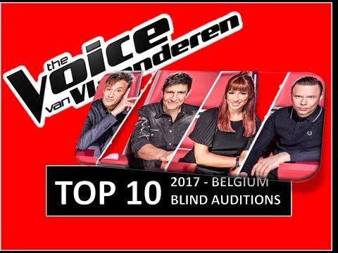 The Voice van Vlaanderen (BELGIUM) - TOP 10 Blind Auditions 2017