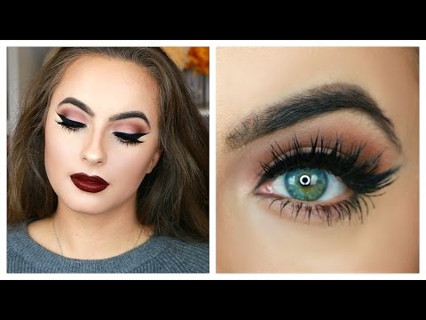 Classic Fall Makeup Tutorial | Matte Eyes