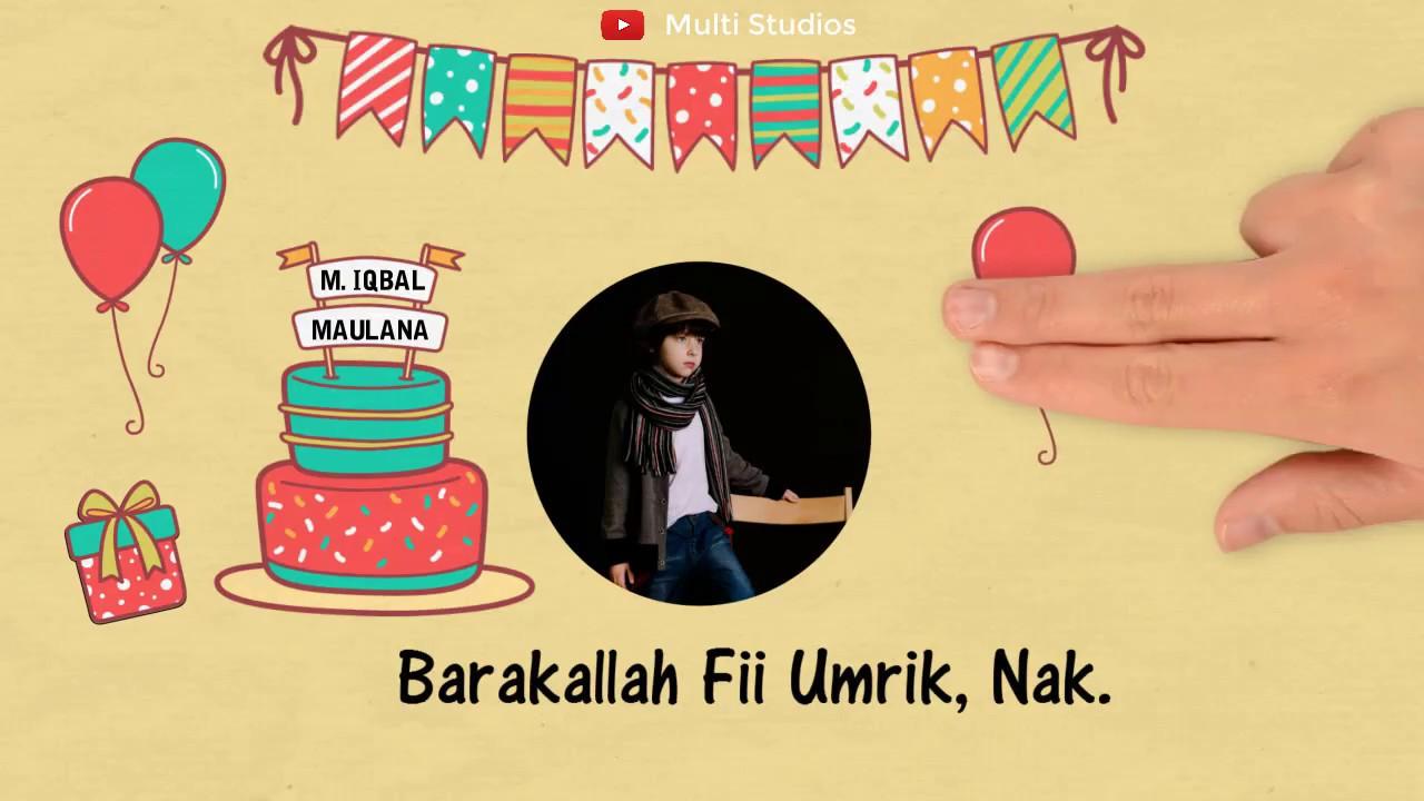 Barakallah Fii Umrik Ucapan Selamat Ulang Tahun Islami Untuk