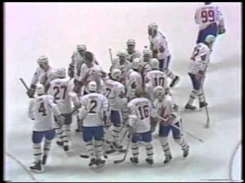 1984 Canada Cup Round Robin Canada Vs CSSR