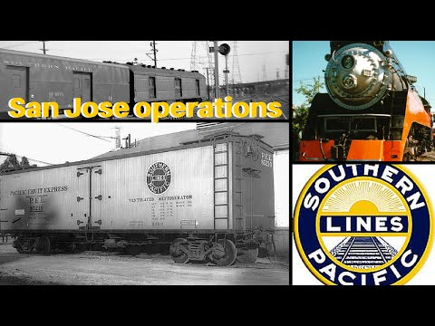 Southern Pacific Railroad, San Jose Operations