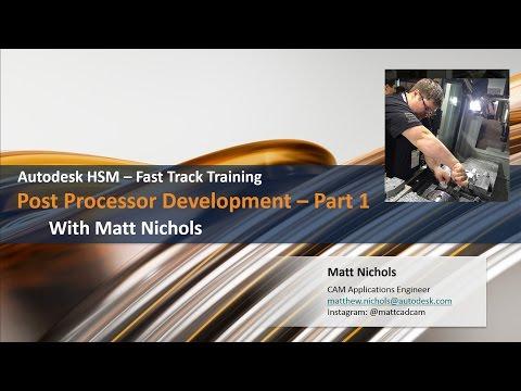Getting started modify posts - Autodesk Community- HSM