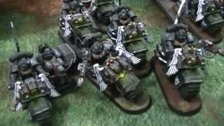 Dark Angels Ravenwing Army by Wingsmooth Painting