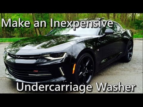 How to Make an INEXPENSIVE Undercarriage Washer