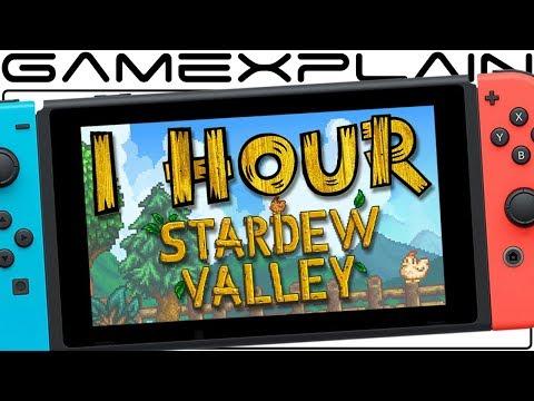1 Hour of Stardew Valley on Nintendo Switch Gameplay