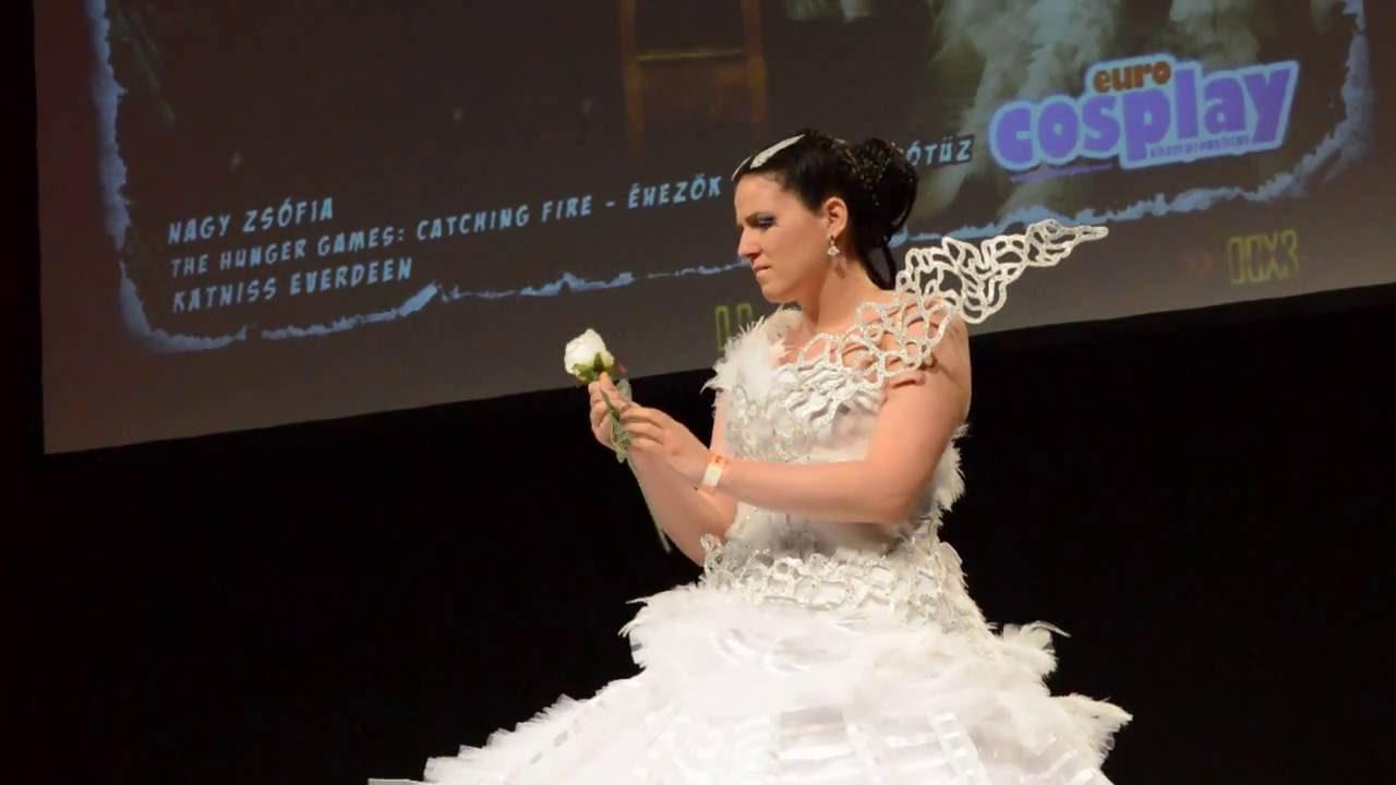 Katniss Everdeen Cosplay Wedding Dress