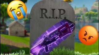 RIP PURPLE (EPIC) TACTICAL SHOTGUN IS GONE... WHY EPIC WHY