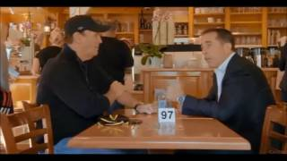 Jerry Seinfeld and Super Dave