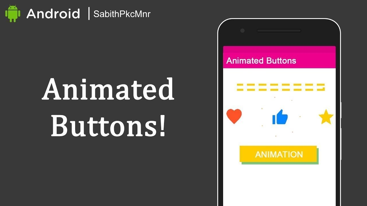 Twitter Heart & Facebook Thumb Buttons | Android Studio 3 0 | Android  Libraries Tutorials