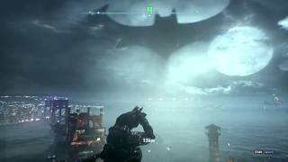 Batman Arkham Knight gameplay on geforce gt 710 2gb graphics and 8gb RAM