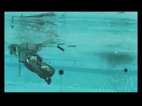 Corvette Mine Sinking
