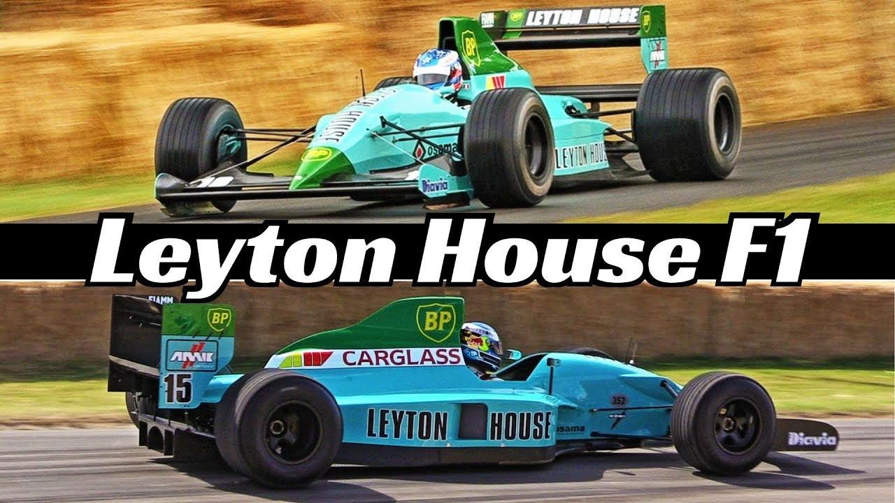 Leyton House March-Judd CG891 & CG901 Formula One [F1] - 3.5-litre V8 N/A Engine Sound & Act