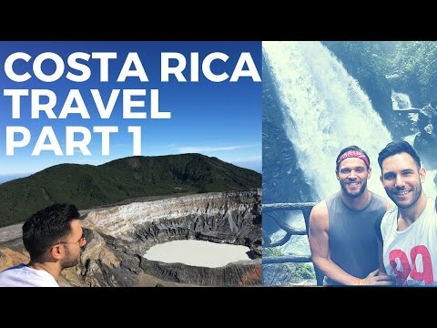 Costa Rica Travel: Rainforests & Volcanoes: Part 1 |  Sanjay Sood-Smith