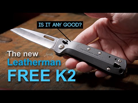 Leatherman Free K2 review – Knife multi-tool