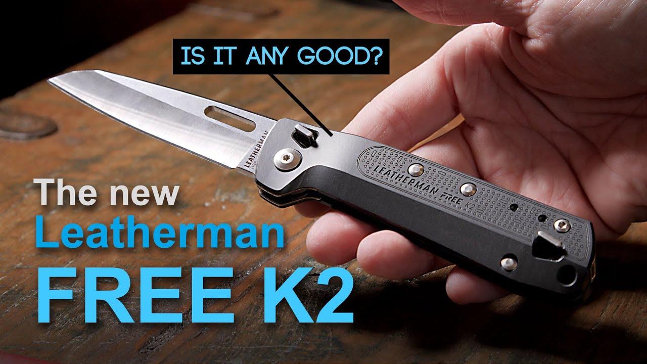 Leatherman Free K2 Review Knife Multi Tool Youtube