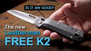 Leatherman Free K2 review - Knife multi-tool