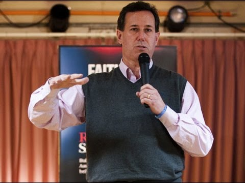 Rick Santorum a Progressive Conservative?