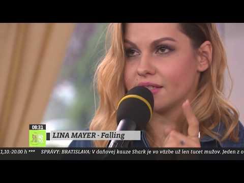 TELERÁNO - Lina Mayer predstavuje svoju hudobnú novinku Falling