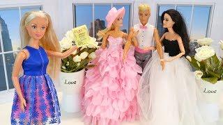Свадьба Барби  А кто Невеста? #Мультик Барби Куклы Игрушки Для девочек Айкукла тиви